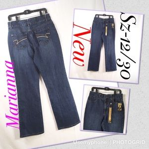 Nine West Jeans - New Nine West Marianna tummy missy jeans Sz 12/30